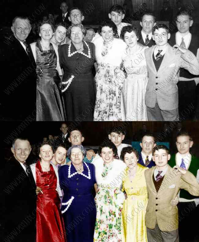 photo restoration colourize