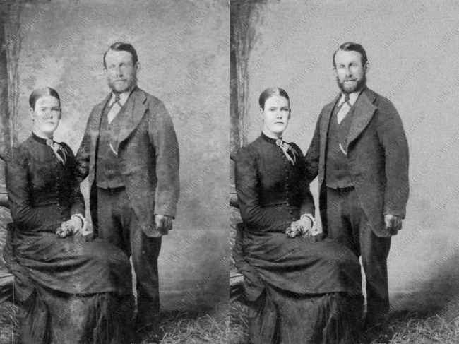 Photo Restoration B&W