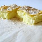 Bougatsa (Greek): Sfoglia di Pasta Fillo con Crema di Ricotta e Semolino