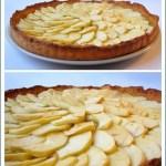 Torta di Mele alla Francese (Tarte aux Pommes) + Biscottini Sablèe al Cacao Amaro