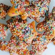 Befanini (Biscotti dell'Epifania con Zuccherini Colorati)