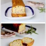 Cake Salato allo Yogurt con Pancetta e Salvia