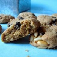 Biscotti Integrali con Mirtilli, Pinoli e Zucchero di Canna