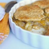 Cobbler (American Crumble) alle Mele e Mandarini