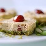 Mini Cheesecake Salati ai Pomodori Secchi e Rucola
