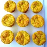 Muffins Salati alle Patate Dolci Profumati alla Curcuma