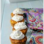 Cupcakes Salati di Carote e Gorgonzola