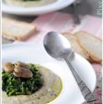 Macco (Zuppa Siciliana) di Fave e Cicoria