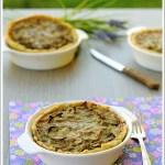 Tortine Salate con Carciofi e Robiola