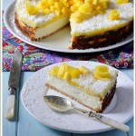Cheesecake al Cocco con Coulis di Mango
