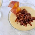 Mousse di Melone con Croccante di Prosciutto Bazzone della Garfagnana