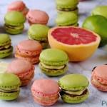 Macarons Agrumi e Cioccolato