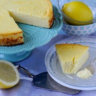 Torta di Yogurt e Ricotta al Limone