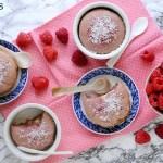 Tortini ai Lamponi con Cuore Morbido di Cioccolato Bianco