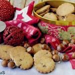 Frollini alle Nocciole con Cioccolato Fondente