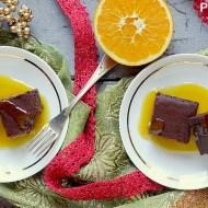 Fondente al Cioccolato con Salsa all'Arancia