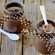 Budini al Cioccolato Fondente (Senza Gelatina e Senza Uova)
