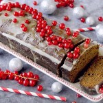 Spiced Gingerbread Loaf con Glassa all'Arancia