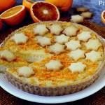 Crostata con Crema di Ricotta e Orange Curd