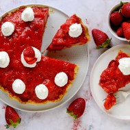 Strawberry Pie con Fragole Fresche
