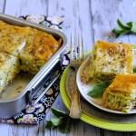 Kolokithopita: Torta Salata Greca di Pasta Fillo con Zucchine, Feta e Cipollotti
