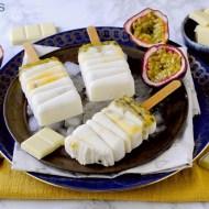 Stecco Gelato allo Yogurt Greco, Cioccolato Bianco e Frutto della Passione