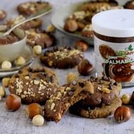 Cookies Vegani Bicolore con Crema di Cacao e Nocciole e Burro di Arachidi