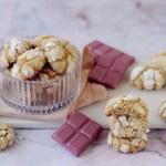 Crinkle Cookies al Cioccolato Ruby