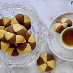 Biscotti Bicolore Vaniglia e Cioccolato