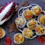 Muffins Salati con Radicchio e Taleggio