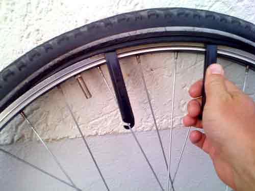 Fahrradschlauch reparieren