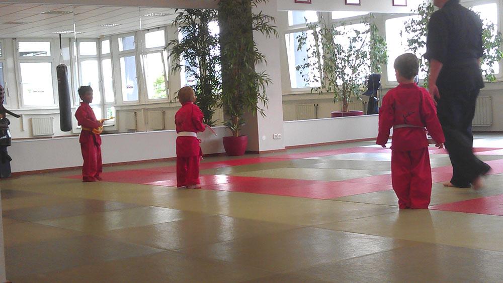 KunTaiKo ist auch eine hervorragend Kampfsportart für Kinder