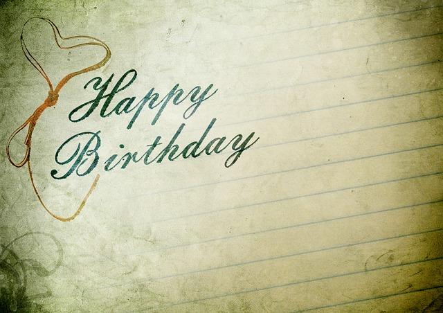 Eine Geburtstagskarte mit einem schönen Text für die beste Freundin