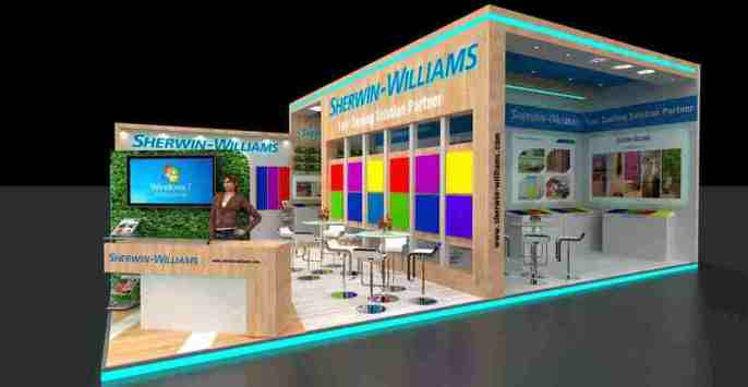 best exhibition stall fabricator in india