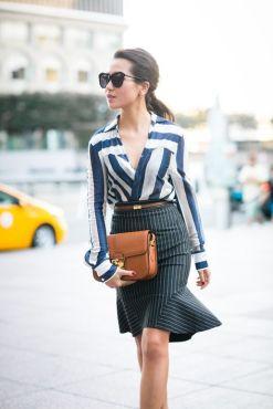 Looks inspiradores Mix de padrões
