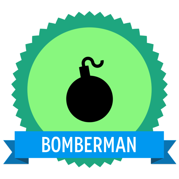"Badge icon ""Bomb (3967)"" provided by The Noun Project under Creative Commons Public Domain"
