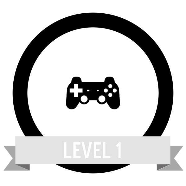 """Badge icon """"Video Game Controller (3473)"""" provided by The Noun Project under Creative Commons CC0 - No Rights Reserved"""