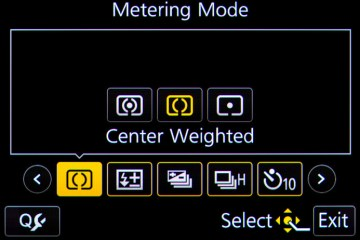 Metering Mode Feature