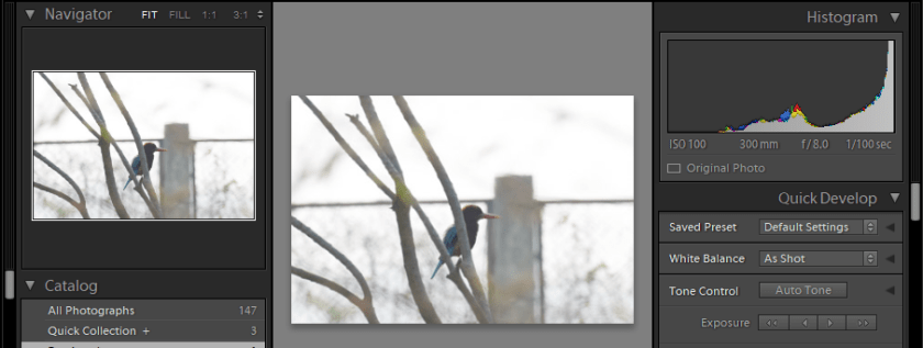 Reading Histogram for Better Pictures : Histogram Explained in Lightroom