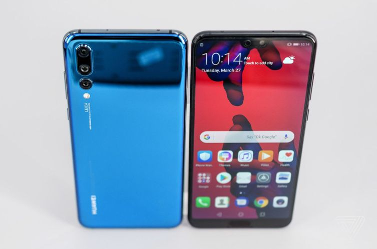 Triple Camera Setup In HUAWEI P20 Pro : HUAWEI P20 Pro Can See In Darkness