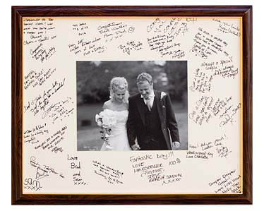 frame guest book