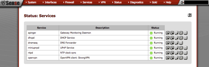 Setup pfSense as an OpenVPN client for specific devices