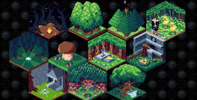 Forest Cubes