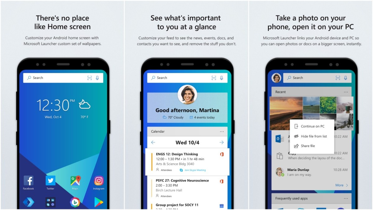 Microsoft Launcher Review: A Serious Contender for your Home Screen