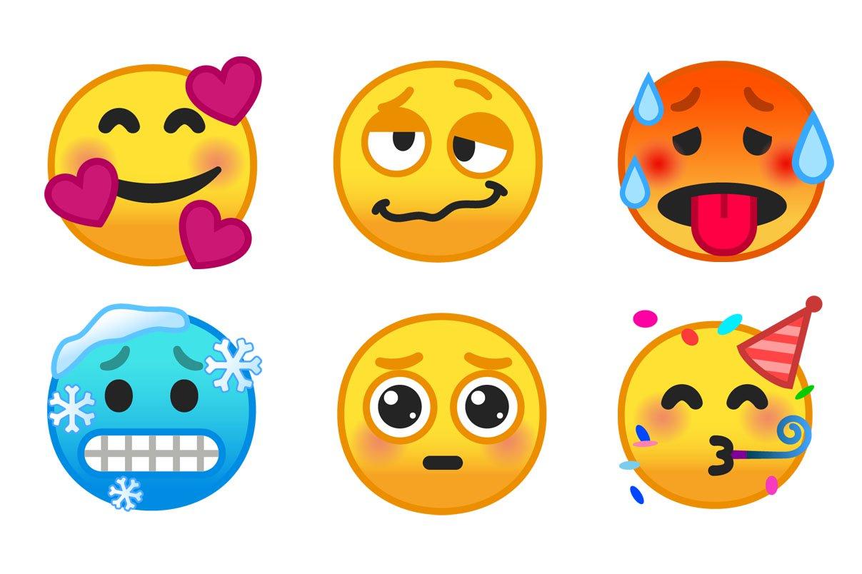Android 9 Pie brings new emojis - Pixel Spot
