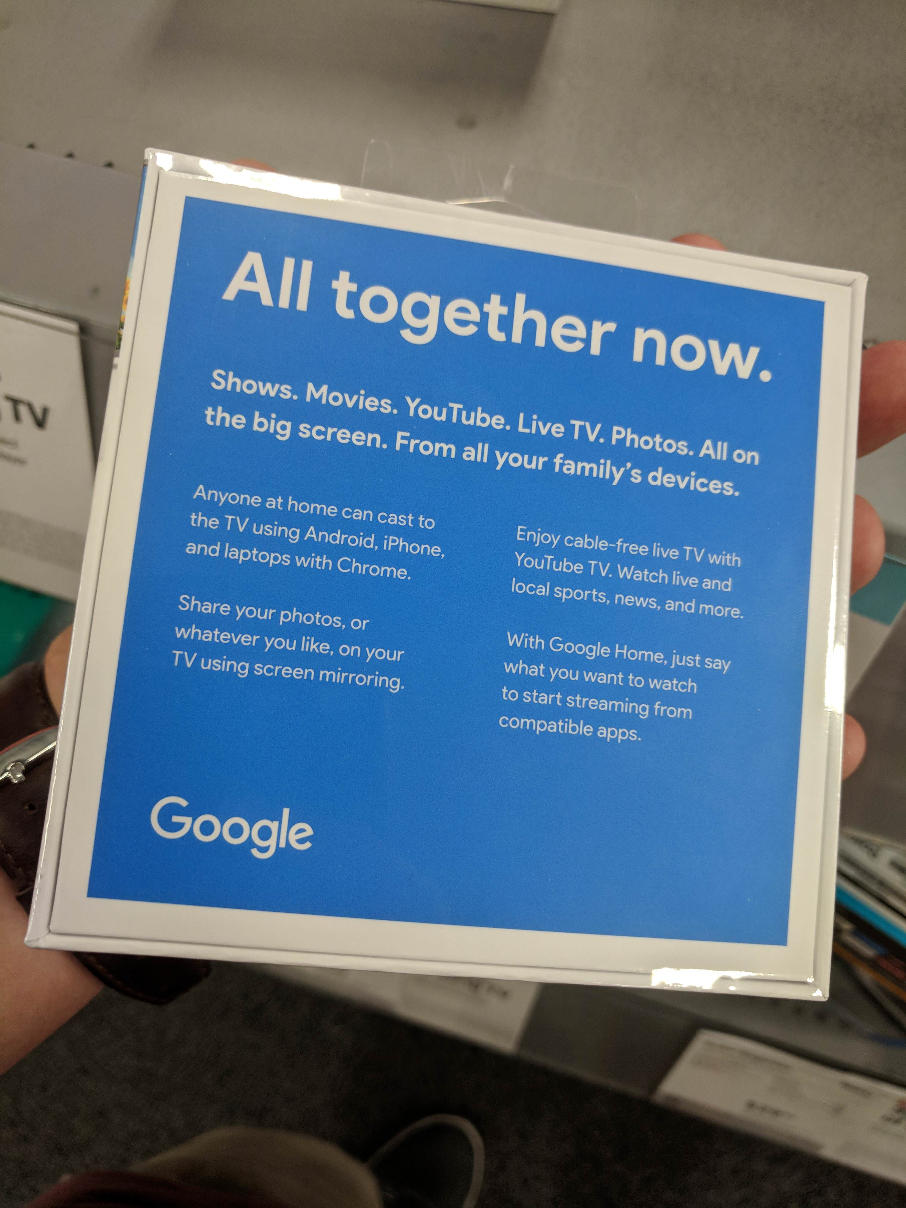 Update: More photos] Someone bought a 3rd Gen Chromecast