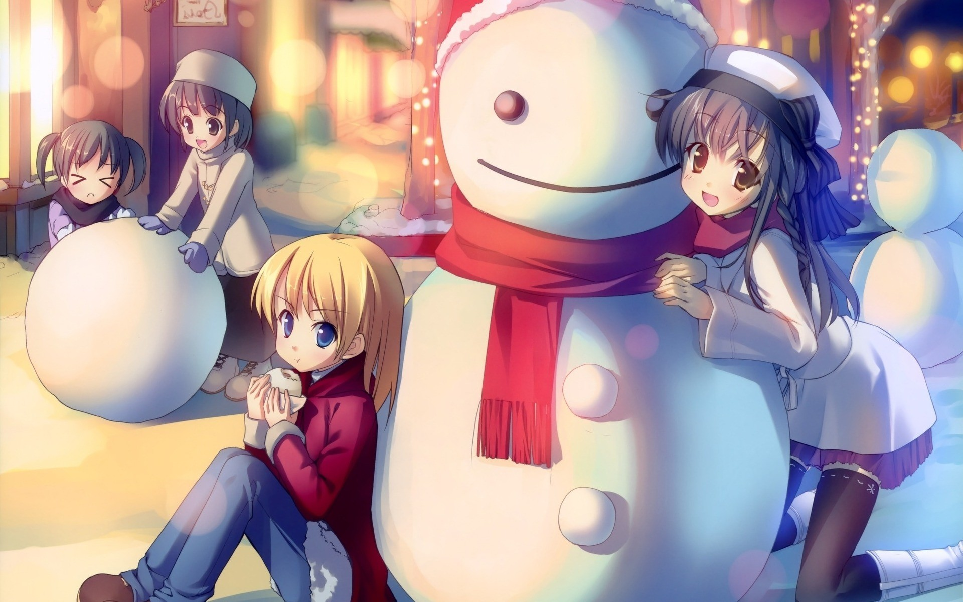 Image result for christmas anime
