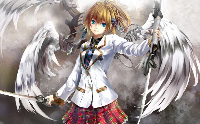 Anime Angel wings HD Image  PixelsTalk.Net