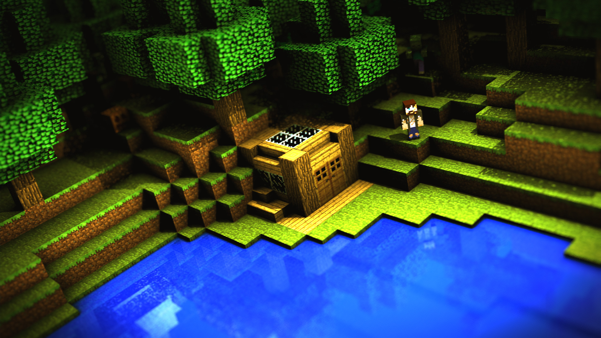 Images Of Minecraft Wallpaper Download Free
