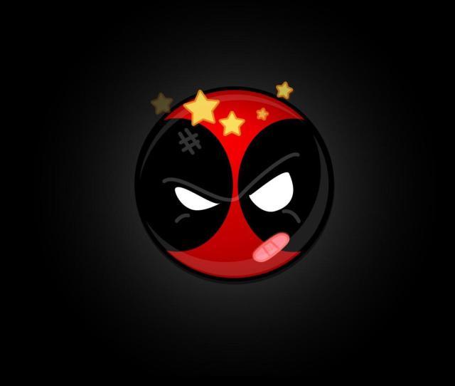 Funny Deadpool Logo Wallpapers Hd